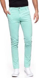 Miętowe spodnie Anerkjendt