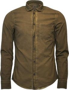 Brązowa koszula Dondup w stylu casual