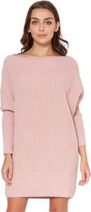 Sweter Lanti z wełny w stylu casual