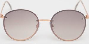 Złote okulary damskie Aldo