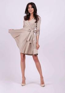 Sukienka Nommo mini z długim rękawem