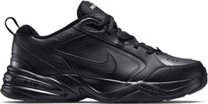 Granatowe buty sportowe Nike sznurowane ze skóry
