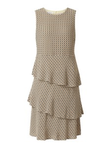 Brązowa sukienka Gerry Weber w stylu casual midi