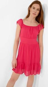 Różowa sukienka ORSAY mini z krótkim rękawem