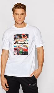 T-shirt Champion z nadrukiem w sportowym stylu