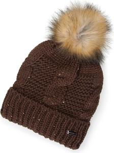 Brązowa czapka Wittchen