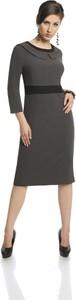 Sukienka Fokus ołówkowa z tkaniny