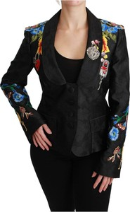 Marynarka Dolce & Gabbana z jedwabiu krótka