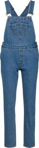 Niebieskie spodnie Dr.Denim w street stylu z jeansu