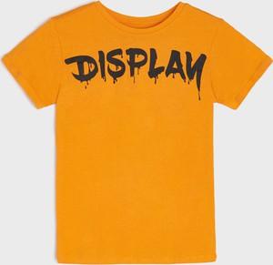 Koszulka dziecięca Sinsay dla chłopców z bawełny