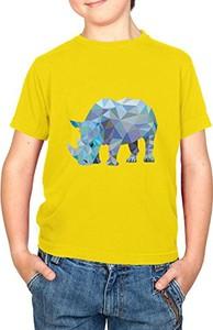 Żółta koszulka dziecięca Texlab