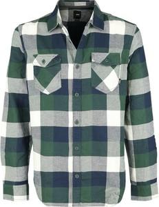 Zielona koszula Emp w stylu casual