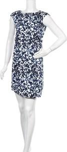 Granatowa sukienka Montego bez rękawów mini prosta