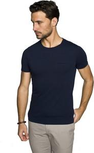 T-shirt Recman w stylu casual z krótkim rękawem