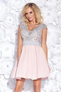 Sukienka E-sukienki.pl w stylu casual z tiulu