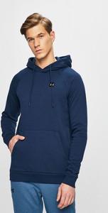 Granatowa bluza Under Armour z bawełny