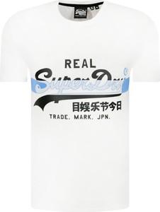 T-shirt Superdry z krótkim rękawem w młodzieżowym stylu