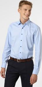 Niebieska koszula Finshley & Harding z klasycznym kołnierzykiem z bawełny
