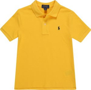 Żółta koszulka dziecięca POLO RALPH LAUREN