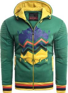 Bluza Risardi z nadrukiem w młodzieżowym stylu z bawełny