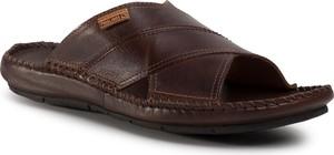 Brązowe buty letnie męskie PIKOLINOS