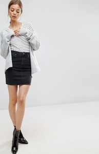 Czarna spódnica Asos z bawełny