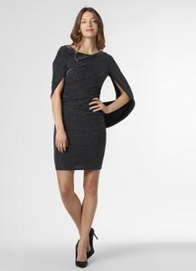 Czarna sukienka Vera Mont Collection dopasowana