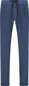 Spodnie Hugo Boss z lnu
