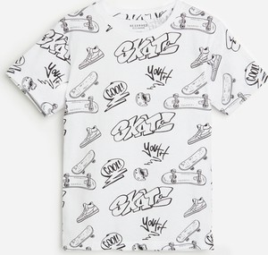 Koszulka dziecięca Reserved dla chłopców z bawełny