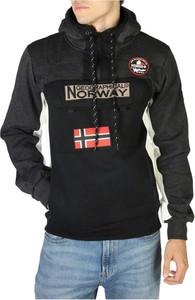 Czarny sweter Geographical Norway z bawełny