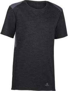 Czarna koszulka dziecięca Domyos