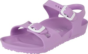 Fioletowe buty dziecięce letnie Birkenstock z klamrami