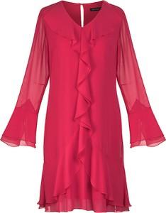 Sukienka Vitovergelis z dekoltem w kształcie litery v midi
