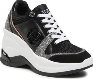 Buty sportowe Liu-Jo sznurowane na platformie revolution