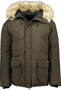 Zielona kurtka Geographical Norway w stylu casual
