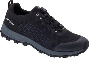 Czarne buty sportowe Dachstein w sportowym stylu z goretexu