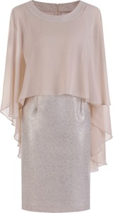 0625954842 asymetryczna sukienka szyfonowa - stylowo i modnie z Allani