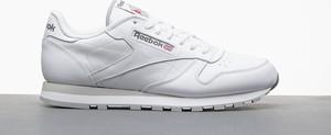 Buty sportowe Reebok ze skóry w sportowym stylu sznurowane