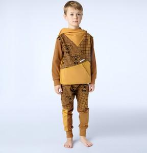 Żółty dres dziecięcy Mammamia