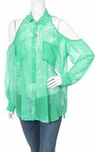 Zielona koszula Nolita z długim rękawem
