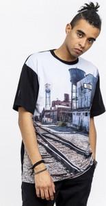 T-shirt Smokestory z krótkim rękawem z bawełny z nadrukiem