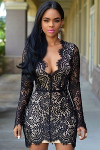 Elegrina sukienka mini adelia czarna