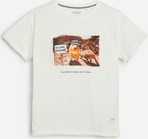 Koszulka dziecięca Reserved z krótkim rękawem z bawełny dla chłopców