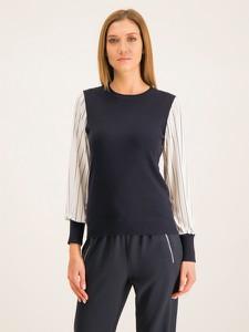 Granatowy sweter DKNY