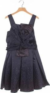 Granatowa sukienka dziewczęca Ted Baker