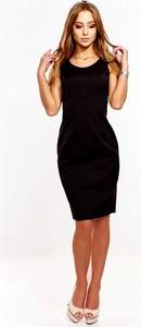 Sukienka Fokus bez rękawów z okrągłym dekoltem ołówkowa