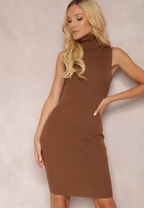 Sukienka Renee dopasowana w stylu casual mini