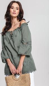 Zielona bluzka Renee hiszpanka