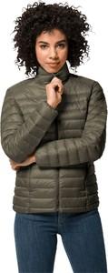 Brązowa kurtka Jack Wolfskin w stylu casual krótka