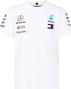 e274288c1 t shirt biały dziecięcy. Koszulka dziecięca Mercedes Amg Petronas F1 Team